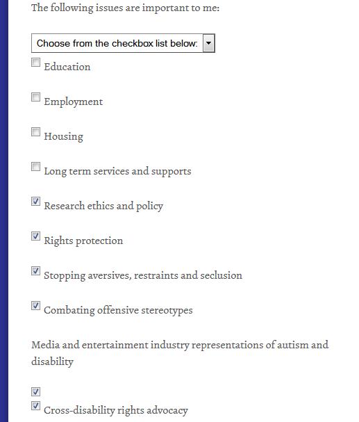 ASAN Membership Questionaire