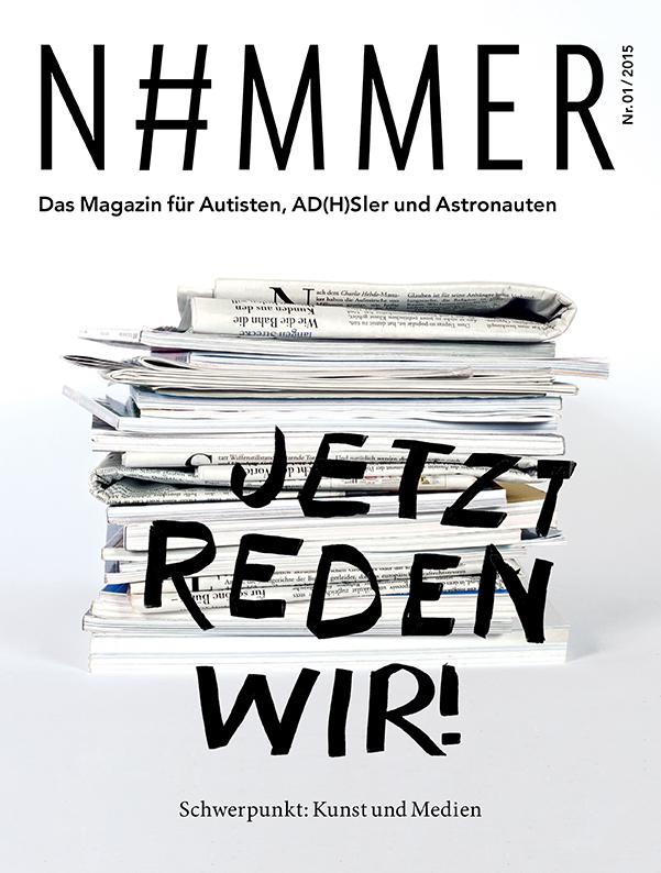 Cover N#MMER Magazin - Ausgabe Nr. 2 - Jetzt reden wir.